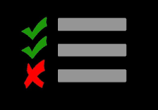 ielts grading checklist