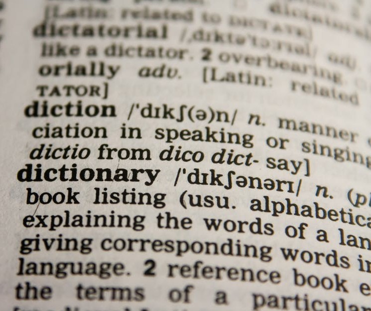 english dictionary vocabulary